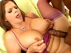June Summers nailed by Lex Steeles big black cock hammer in these video clips