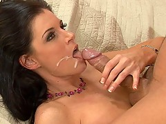 India Summer is one of those sophisticated mature babes you pass by on the street downtown and wish you could take home and spank a few times before fucking her silly. She has a body built for sex and the appetite to go with it.